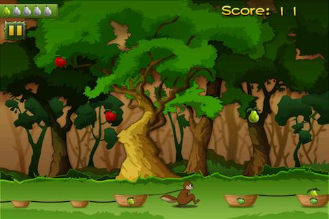 Screenshot Fruit Rain